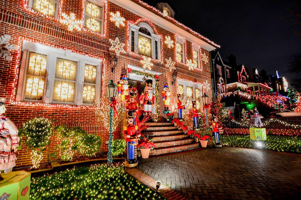 Brooklyn, décoration Noël maison - jardin hiver