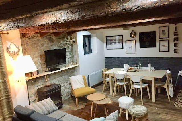 Residencia para 8 huéspedes en Vignec