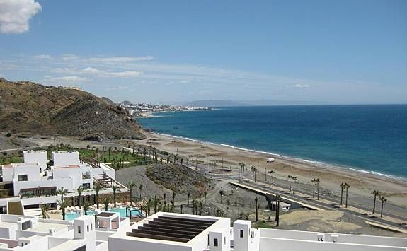 Chalet in Mojácar playa mit 2 Zimmern