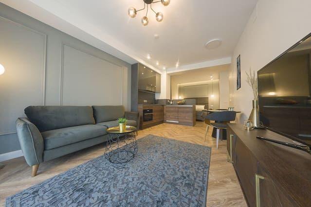 Appartement à Vilna avec 1 chambre