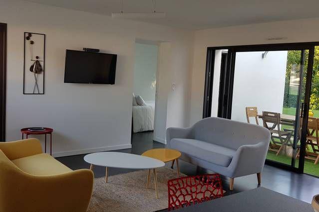Alojamiento con balcón en Concarneau