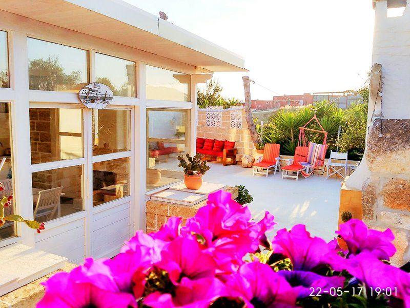 Casa meravigliosa con giardino