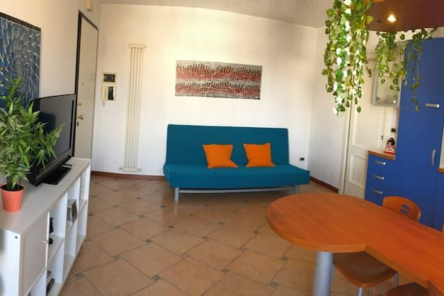 Schöne Wohnung mit Meerblick und großer Terrasse