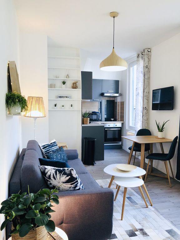 Alojamiento con wi-fi en Rouen