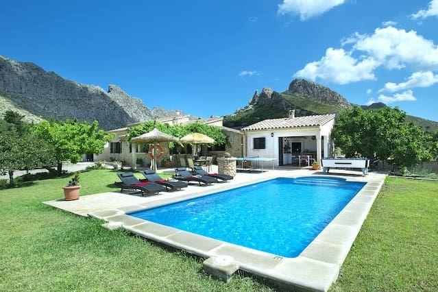 Residencia inmejorable con piscina