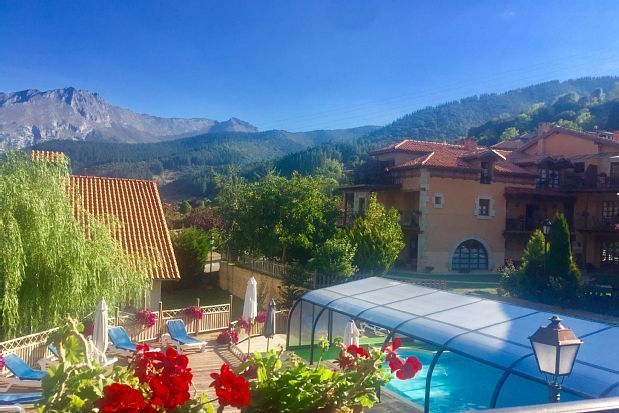 Apartamento en Cillorigo de liébana con piscina