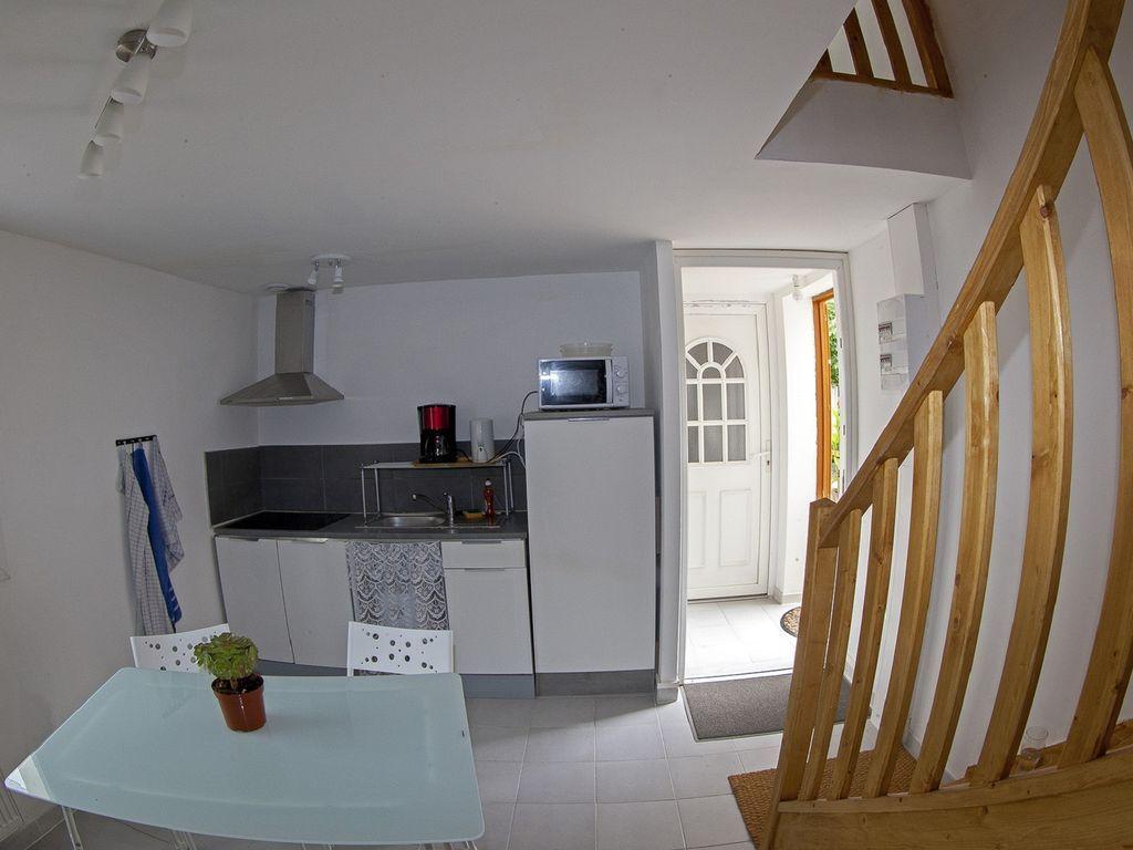 Vivienda de 45 m² con jardín