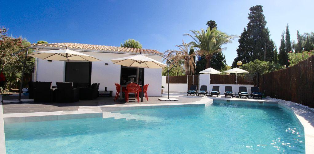 Vivienda de 110 m² con piscina