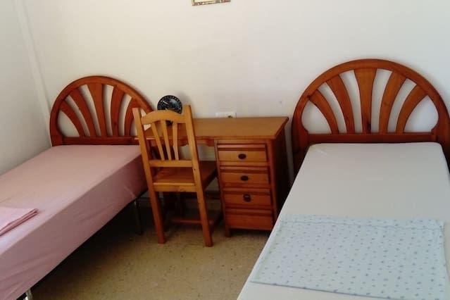 Alojamiento con wi-fi para 2 huéspedes