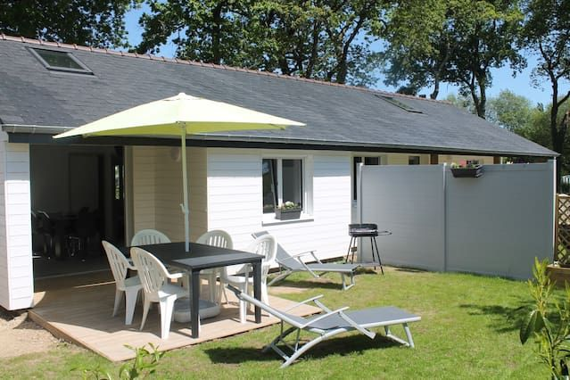 Albergue / Cottage 4/5 personas cómodamente cerca de Etel y playas del océano