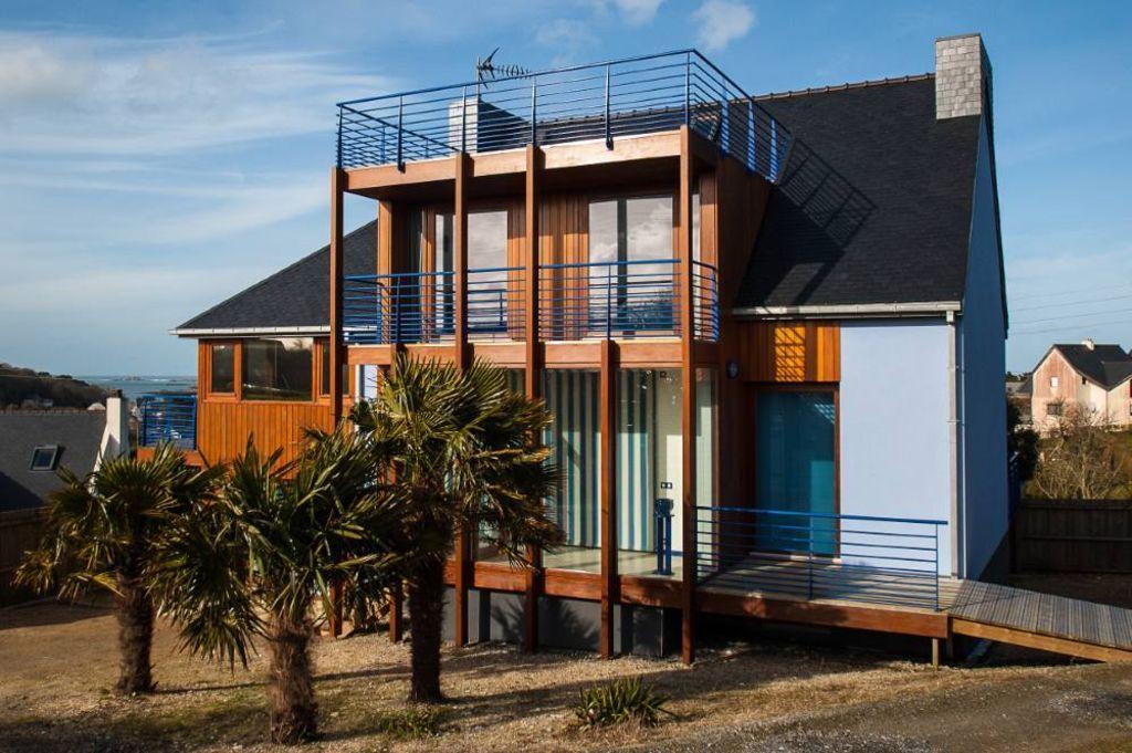 Alojamiento con balcón de 210 m²