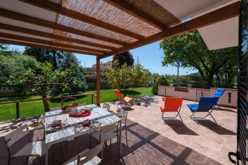 Casa con giardino di 128 m²