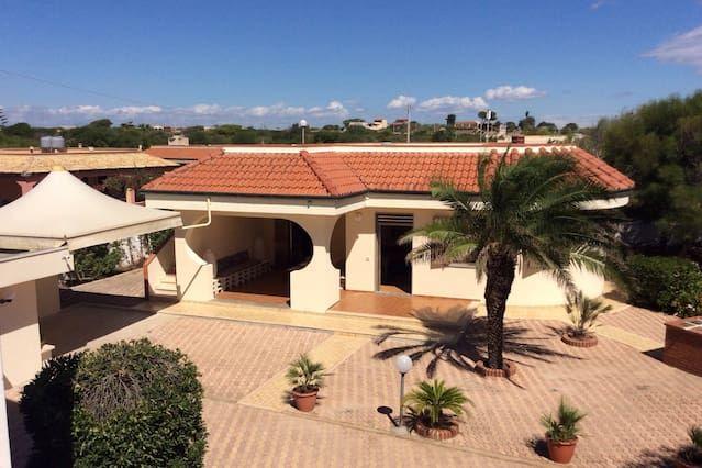 Nueva Villa de lujo en Sicilia, en la playa de arena multi-galardonado de Carratois