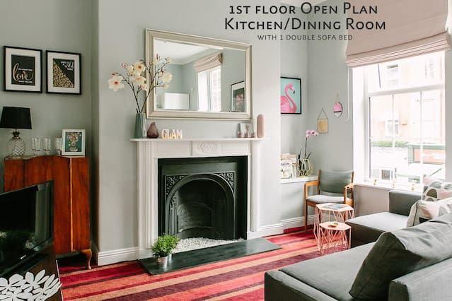 Apartamento, para 4 personas - Grafton Street - 5 minutos a pie