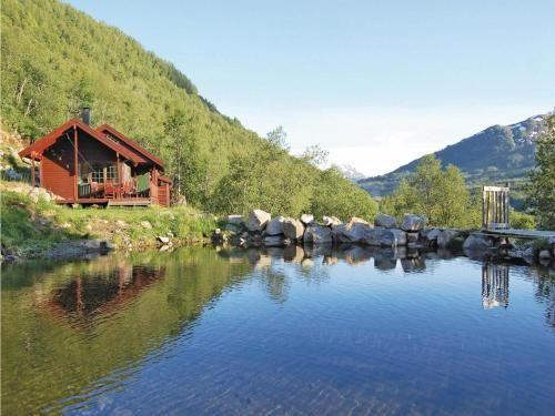 Residencia en Svidalen con jardín