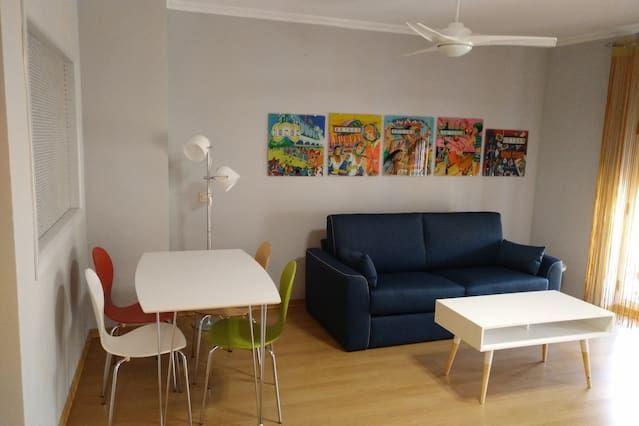 Eingerichtete Wohnung in València
