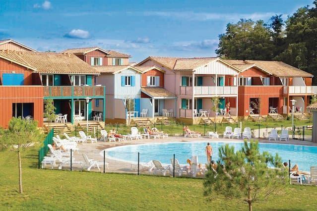 Apartamento con piscina de 2 habitaciones