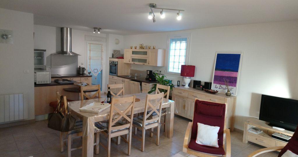 Hébergement à Drôme de 2 chambres