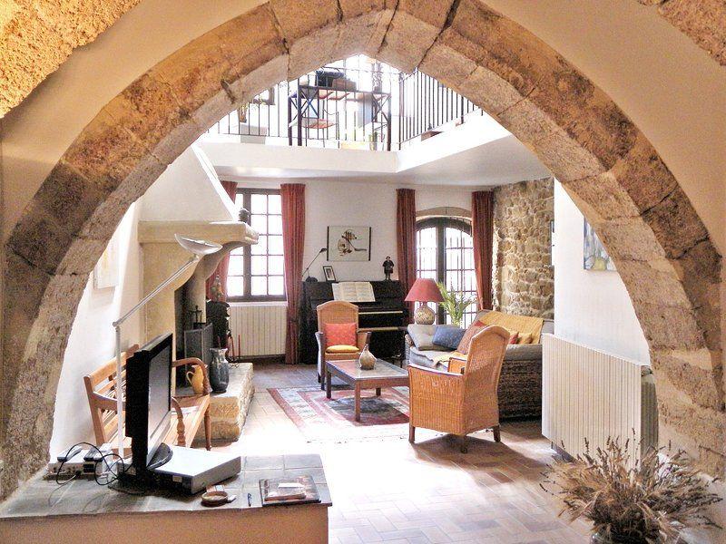 Casa con balcón para 6 personas