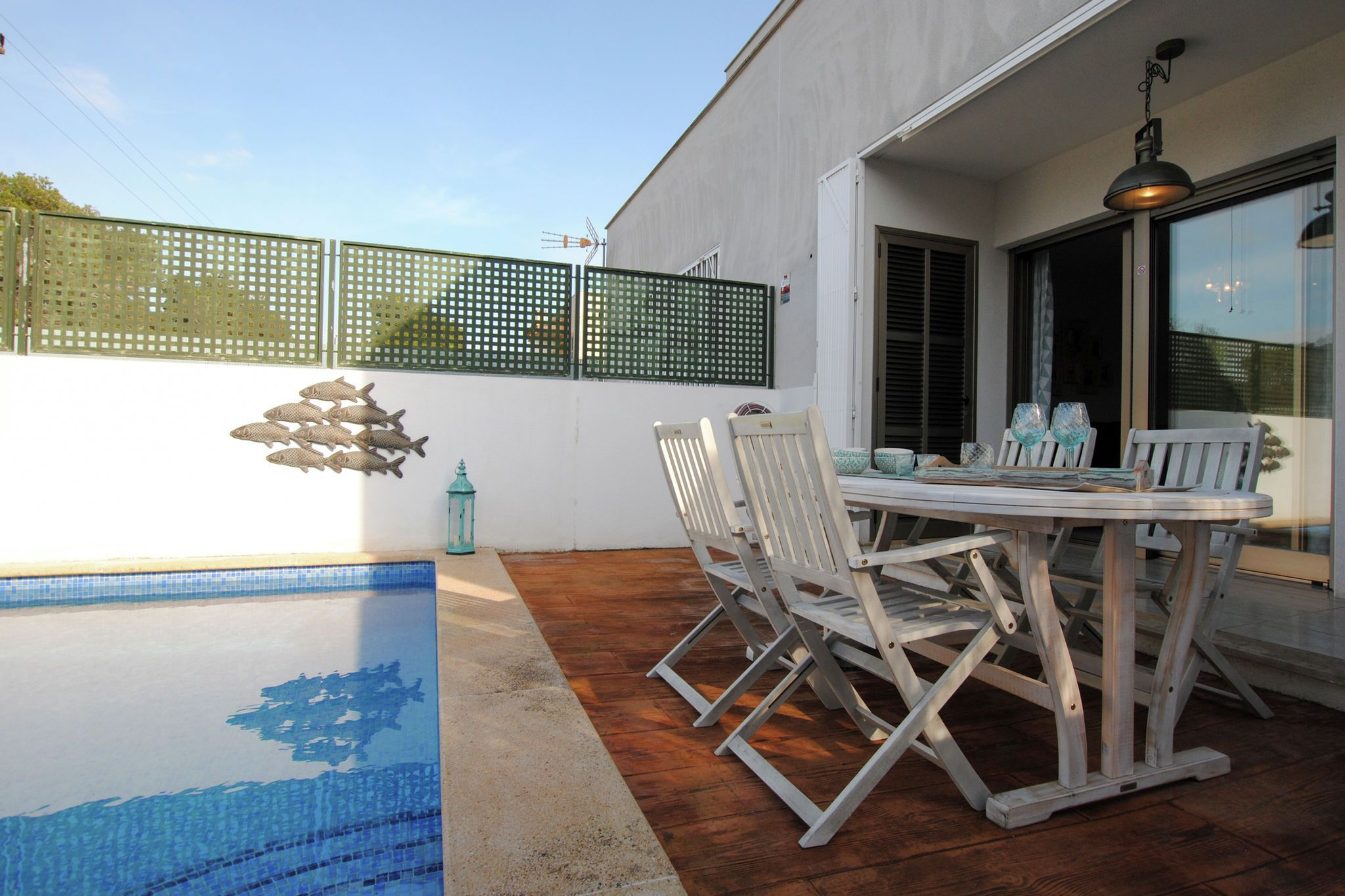 Holiday rental with 2 rooms in Cala pi