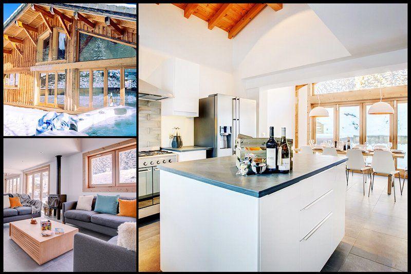Panorámica casa en Morzine