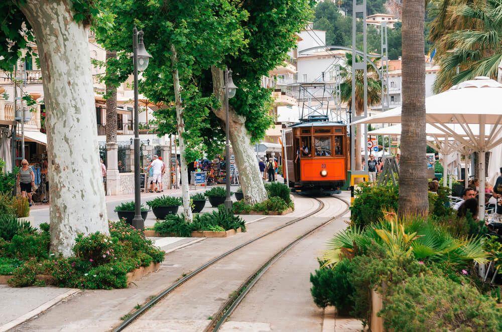 Train de Soller, Majorque