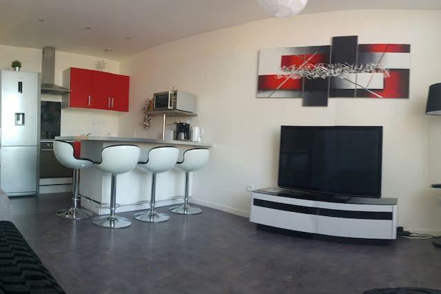 Ausgestattete Ferienunterkunft auf 41 m²