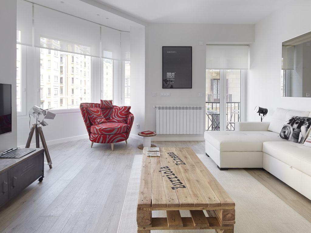 Apartamento en San sebastián para 6 personas