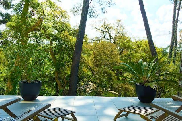 Apartamento de 60 m² con jardín