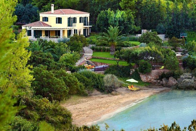 Residencia en Kranidi con jardín