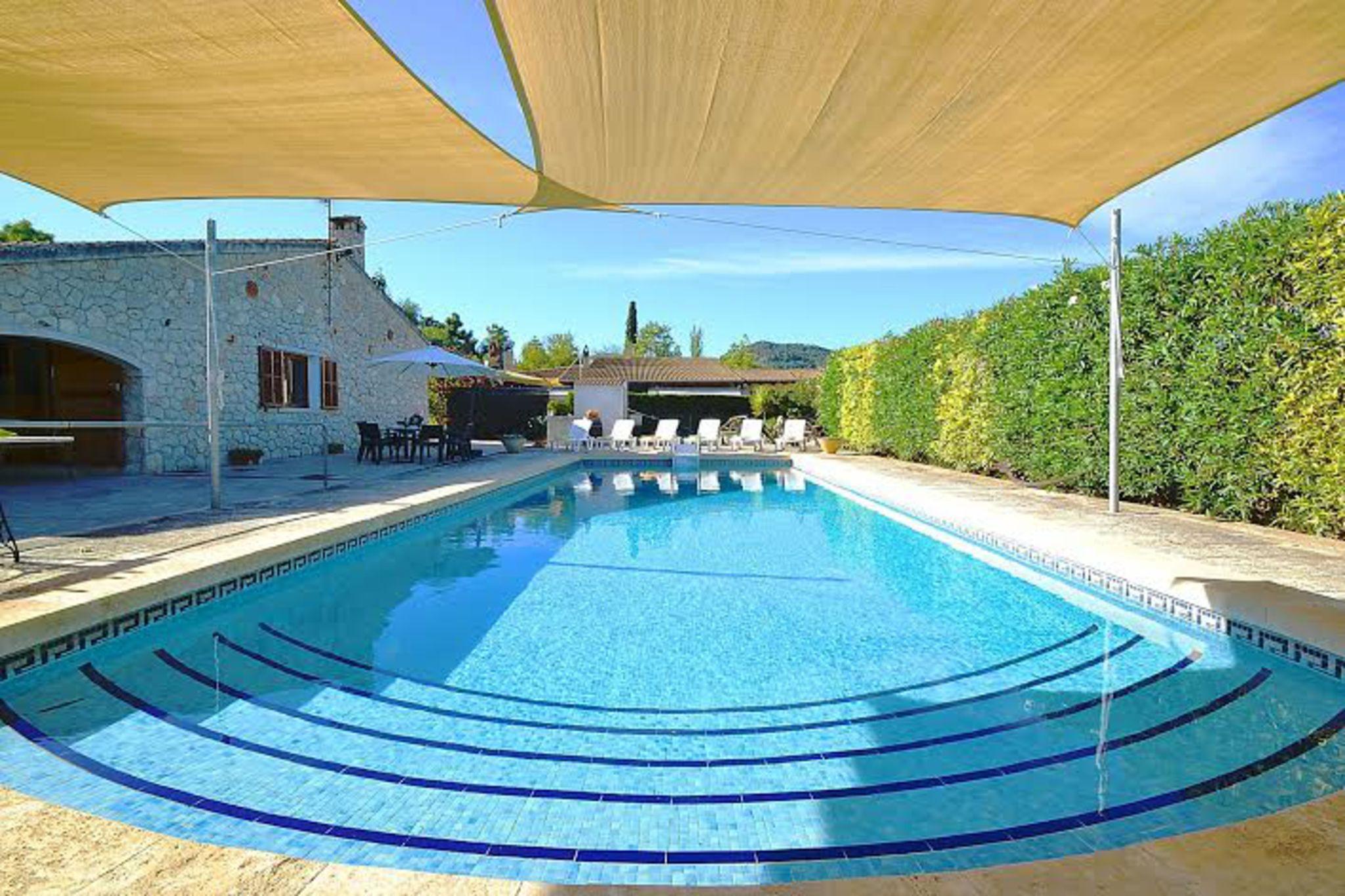 Residencia con piscina en Binissalem