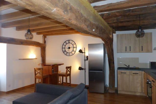 Hébergement à Saint-aignan avec 1 chambre
