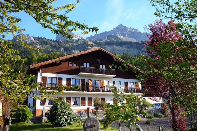 Apartamento 80 m² tt comodidad a los pies de las montañas, vista excepcional del Mont Blanc
