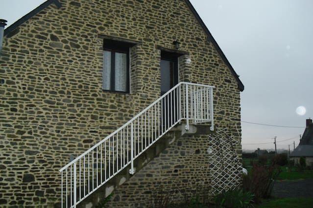 15kms de casa Mont-Saint-Michel
