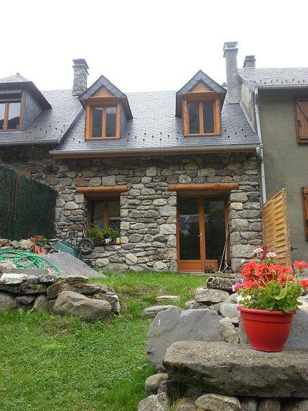 Casa con jardín para 6 personas