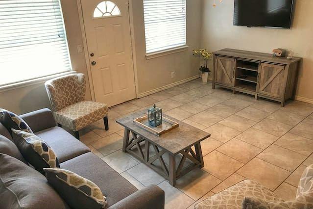 Apartamento para 8 personas en San antonio