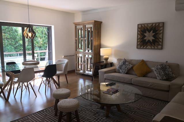 Attractif hébergement avec 2 chambres