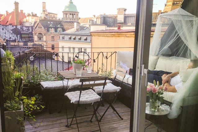 Appartement de luxe sur le toit à Stockholm