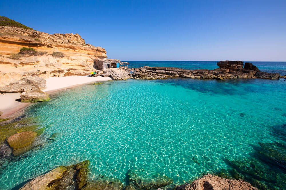 Es Calo des Mont à Formentera
