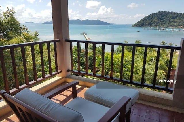 Breathtaking sea view, luxurious 2BR Duplex Suite