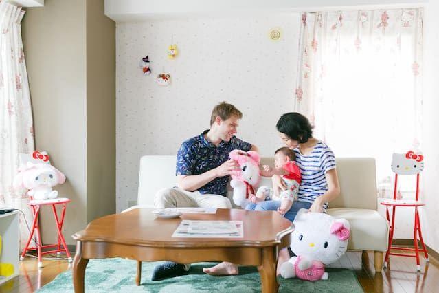 Appartement à Sapporo avec 1 chambre
