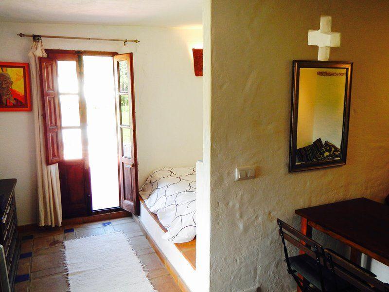 Alojamiento con jardín en Málaga