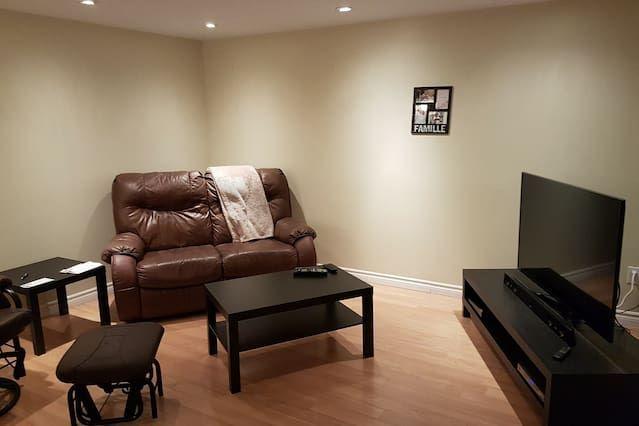 Alojamiento en Laval para 2 personas