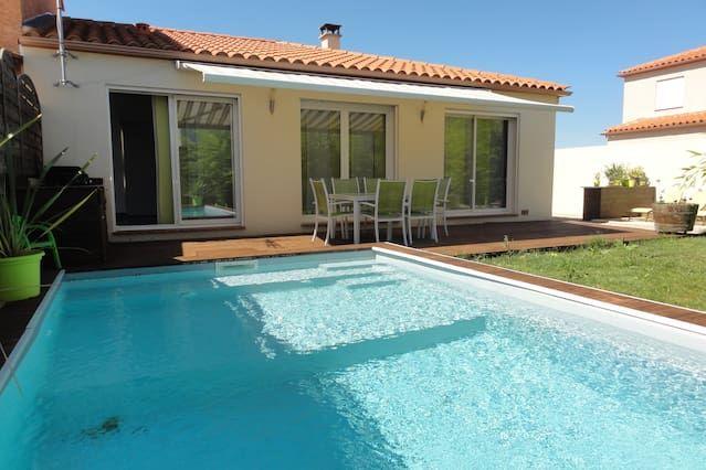Villa en PIA, Languedoc, MER, Francia
