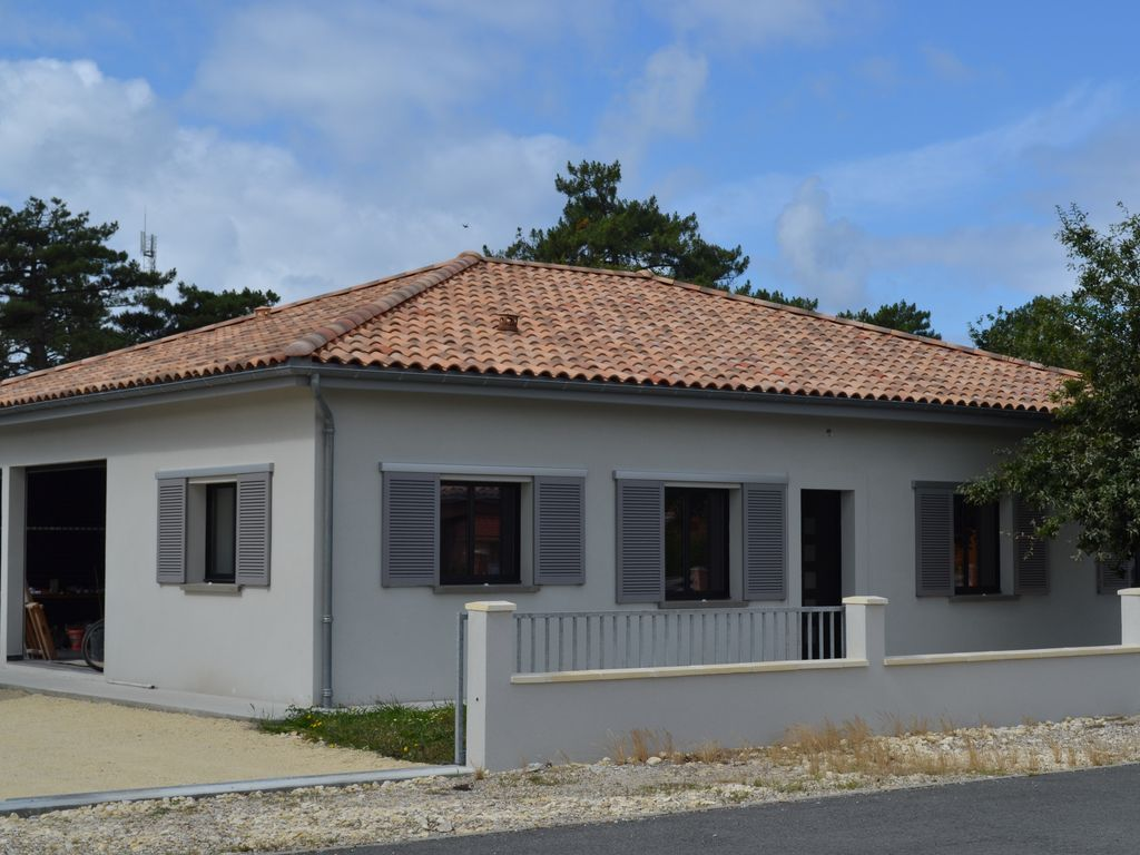 Hogareño alojamiento en Vensac