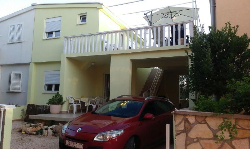 Apartment with private terrace and parking place.