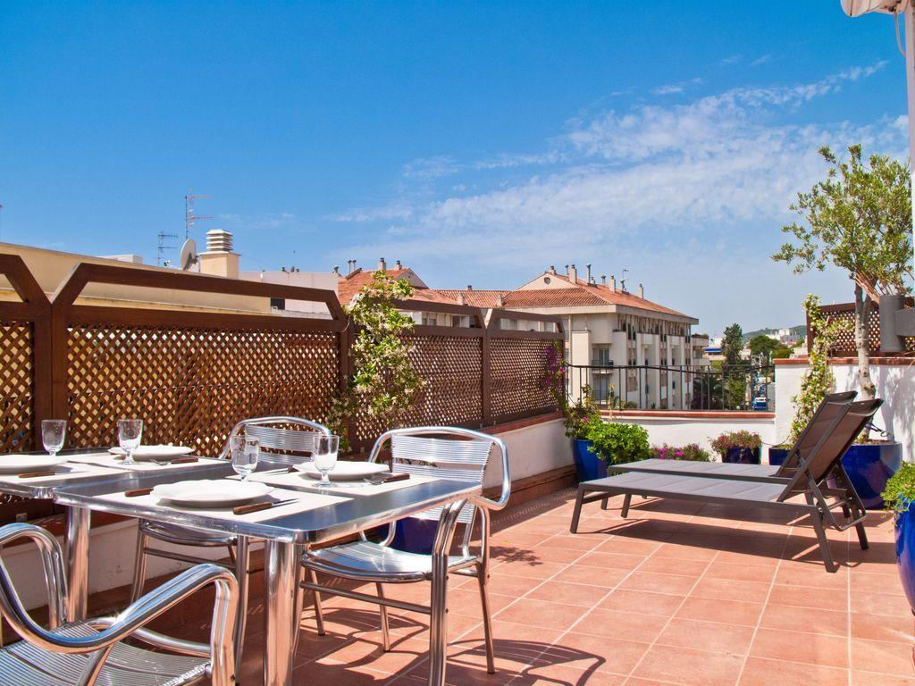 Apartamento céntrico con  TV en Sitges