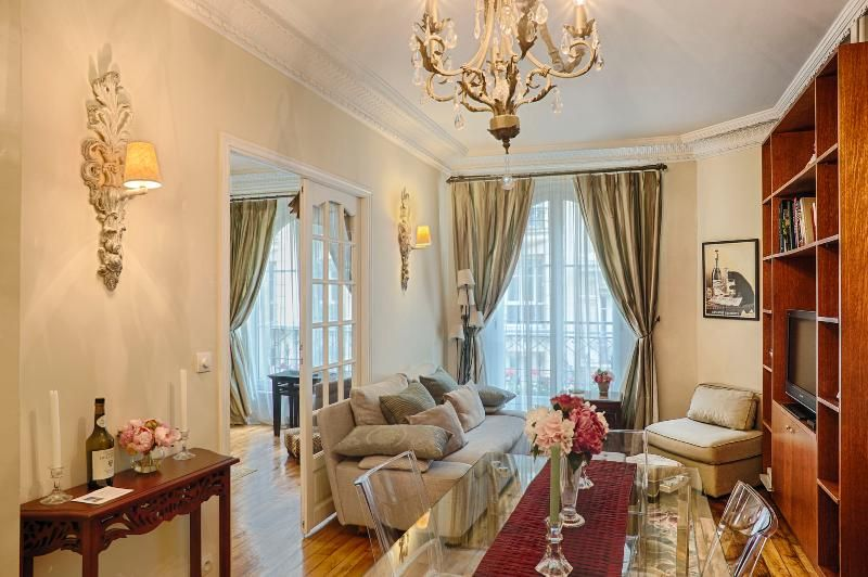 Le Trésor de Montmartre - luxury 2 bed apt. WiFi