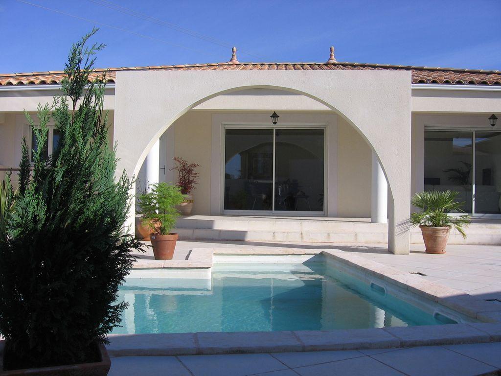 Casa contemporánea cerca de la región de Cevennes 25 kilometros de Montpellier