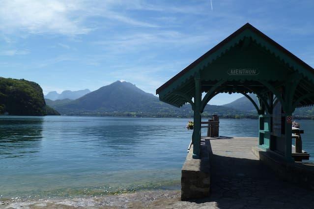T2 apartamento costa este marco excepcional del lago de Annecy